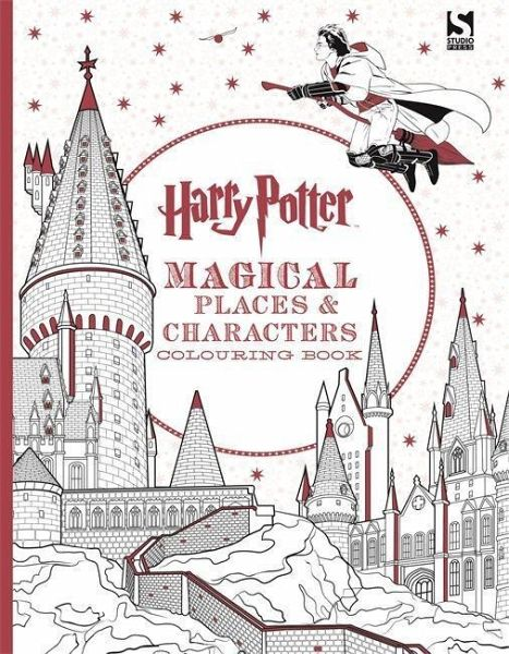 Harry Potter Magical Places & Characters Colouring Book portofrei ...