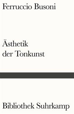 Entwurf einer neuen Ästhetik der Tonkunst