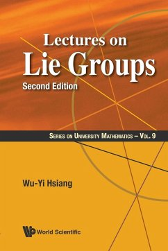 Lectures on Lie Groups - Hsiang, Wu-Yi