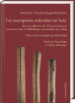 Abraham Drewes/Jacques Ryckmans, les inscriptions sudarabes sur bois