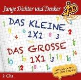 Junge Dichter und Denker - Das kleine 1x1 und Das große 1x1, 2 Audio-CD