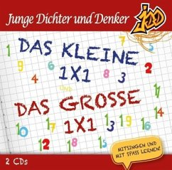 Junge Dichter und Denker - Das kleine 1x1 und Das große 1x1, 2 Audio-CD - Junge Dichter und Denker