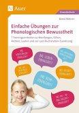 Einfache Übungen zur Phonologischen Bewusstheit