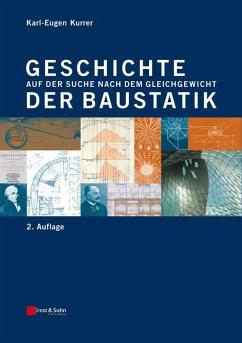 Geschichte der Baustatik (eBook, ePUB) - Kurrer, Karl-Eugen