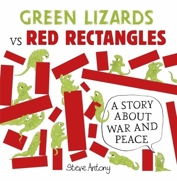Green Lizards vs Red Rectangles - Antony, Steve