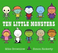 Ten Little Monsters - Brownlow, Mike