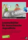 Lesemalblätter für leseschwache Jugendliche (eBook, PDF)