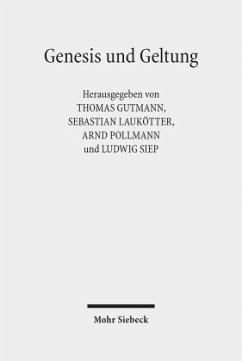 Genesis und Geltung