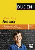 Wissen - Üben - Testen: Deutsch - Aufsatz 3. Klasse (eBook, PDF)