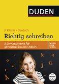 Wissen - Üben - Testen: Deutsch - Richtig schreiben 3. Klasse (eBook, PDF)