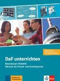 DaF unterrichten, Neubearbeitung. Buch + Video-DVD