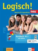 Logisch! Neu A1.1. Deutsch für Jugendliche. Kursbuch mit Audio-Dateien zum Download