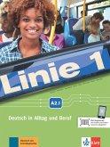 Linie 1 A2.1. Kurs- und Übungsbuch mit DVD-ROM