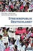 Streikrepublik Deutschland? (eBook, ePUB)