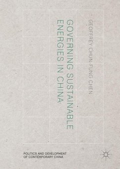 Governing Sustainable Energies in China - Chen, Geoffrey Chun-fung