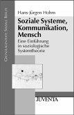 Soziale Systeme, Kommunikation, Mensch (eBook, PDF)