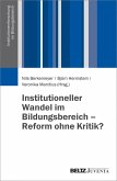 Institutioneller Wandel im Bildungswesen (eBook, PDF)