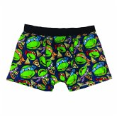Turtles Boxershorts -L- Turtles/Pizza all over pri