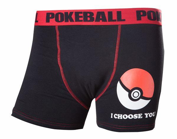 Pokemon Boxershorts -L- Poke Ball