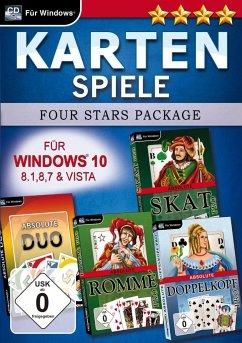 Kartenspiele Four Stars für Windows 10