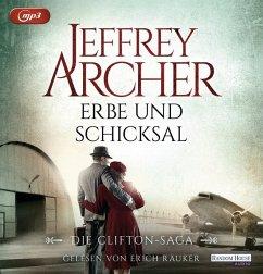 Erbe und Schicksal / Clifton-Saga Bd.3 (2 MP3-CDs) - Archer, Jeffrey