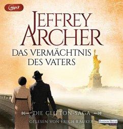 Das Vermächtnis des Vaters / Clifton-Saga Bd.2 (2 MP3-CDs) - Archer, Jeffrey