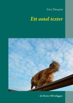 Ett antal texter (eBook, ePUB)