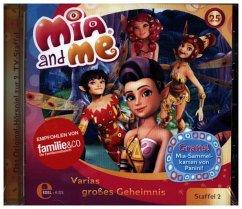 Varias großes Geheimnis / Mia and me Bd.25 (1 Audio-CD)