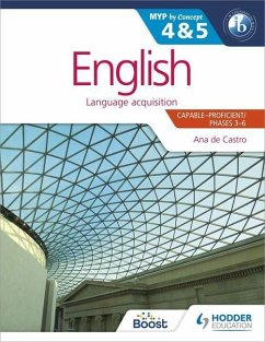 English for the IB MYP 4 & 5 - Castro, Ana de