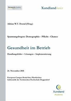Gesundheit im Betrieb (eBook, ePUB)