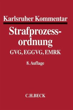 Karlsruher Kommentar zur Strafprozessordnung