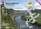 Rhein-Mosel und Nebenflüsse / Jübermann TourenAtlas Wasserwandern Nr.3