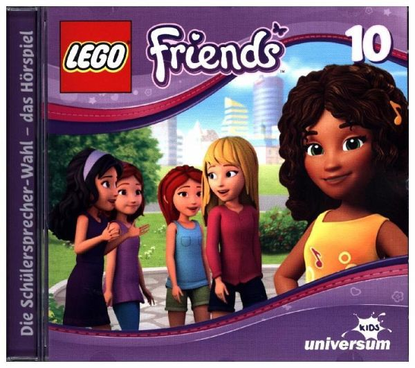 LEGO Friends - Die Schulsprecherwahl 1 Audio-CD