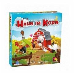 Asmodee BLO0001 - Hahn im Korb, Familienspiel