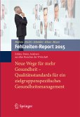 Fehlzeiten-Report 2015 (eBook, PDF)