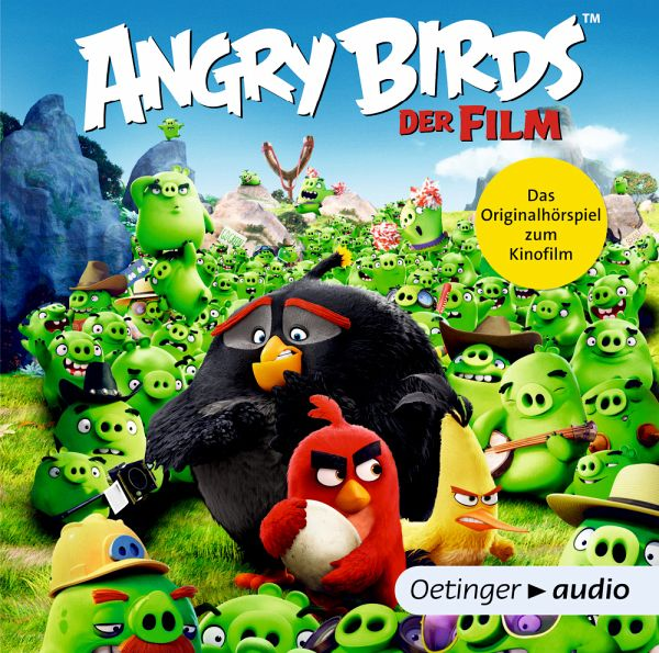 angry birds audio cd von angry birds h rbuch. Black Bedroom Furniture Sets. Home Design Ideas