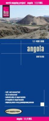 Reise Know-How Landkarte Angola (1:1.400.000)