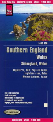 Reise Know-How Landkarte Südengland, Wales (1:400.000); Southern England, Wales / Angleterre Süd, Pays de Galles / Ingla