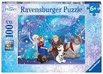Ravensburger 10911 - Disney Frozen, Eiszauber, Puzzle, 100 Teile