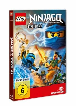 lego ninjago staffel 6 1 auf dvd portofrei bei b. Black Bedroom Furniture Sets. Home Design Ideas