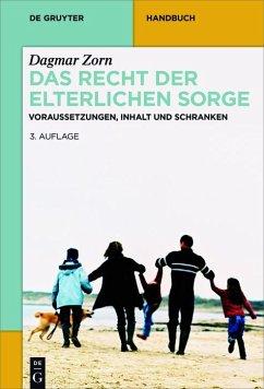 Das Recht der elterlichen Sorge (eBook, ePUB) - Zorn, Dagmar