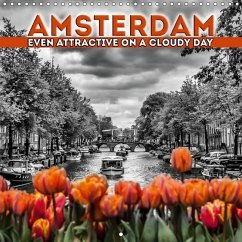 Amsterdam Even Attractive on a Cloudy Day 2017