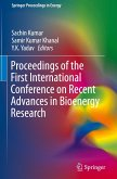 Proceedings of the First International Conference on Recent Advances in Bioenergy Research