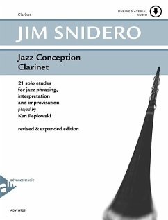Jazz Conception for Clarinet, w. MP3-CD