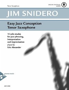 Easy Jazz Conception Tenor & Soprano Sax, w. Audio-CD - Snidero, Jim