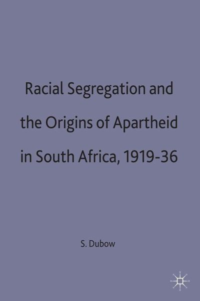 an examination of south african segregation Find the answers to your questions about the era of apartheid in south african history south africa was ruled by a but racial segregation had been in force.