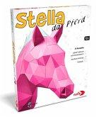 Noris 606311514 - Stella das Pferd, PaperShape, 3D Wanddeko, Bastelset, Origami