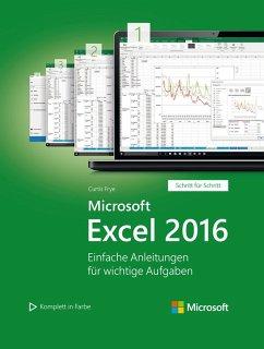 Microsoft Excel 2016 (Microsoft Press) (eBook, PDF) - Frye, Curtis