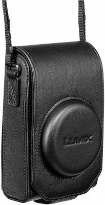 Panasonic DMW-PHS84XEK Ledertasche vertikal schwarz