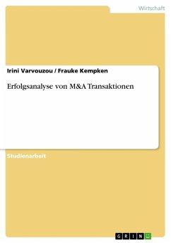 Erfolgsanalyse von M&A Transaktionen (eBook, ePUB)